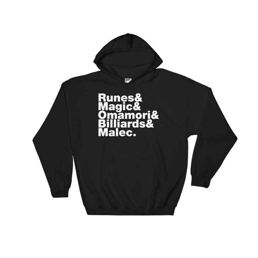 Runes & Magic Hooded Sweatshirt
