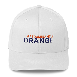 Predominantly Orange Structured Twill Cap