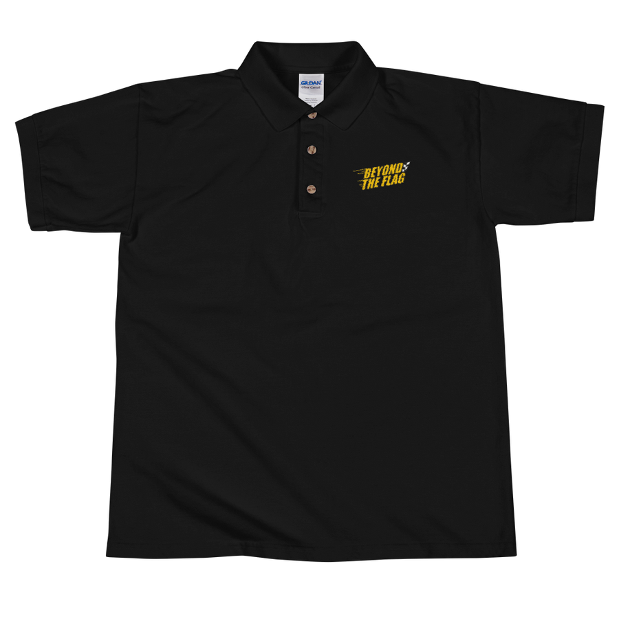 Beyond The Flag Embroidered Polo Shirt