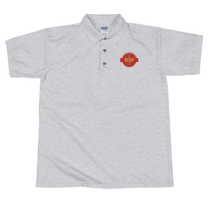 Reign of Troy Radio Embroidered Polo Shirt