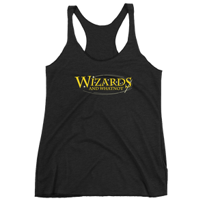 Women's Wizards and What Not Racerback Tank