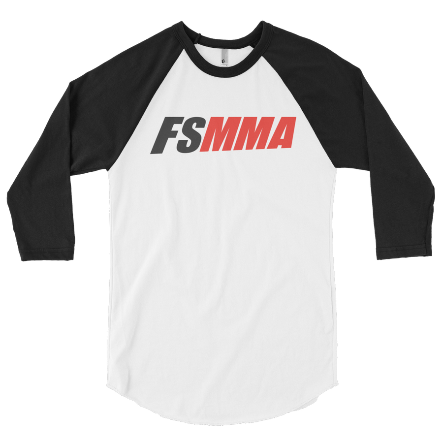 FanSided MMA 3/4 sleeve raglan shirt