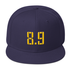 8 Points, 9 Seconds Snapback Hat
