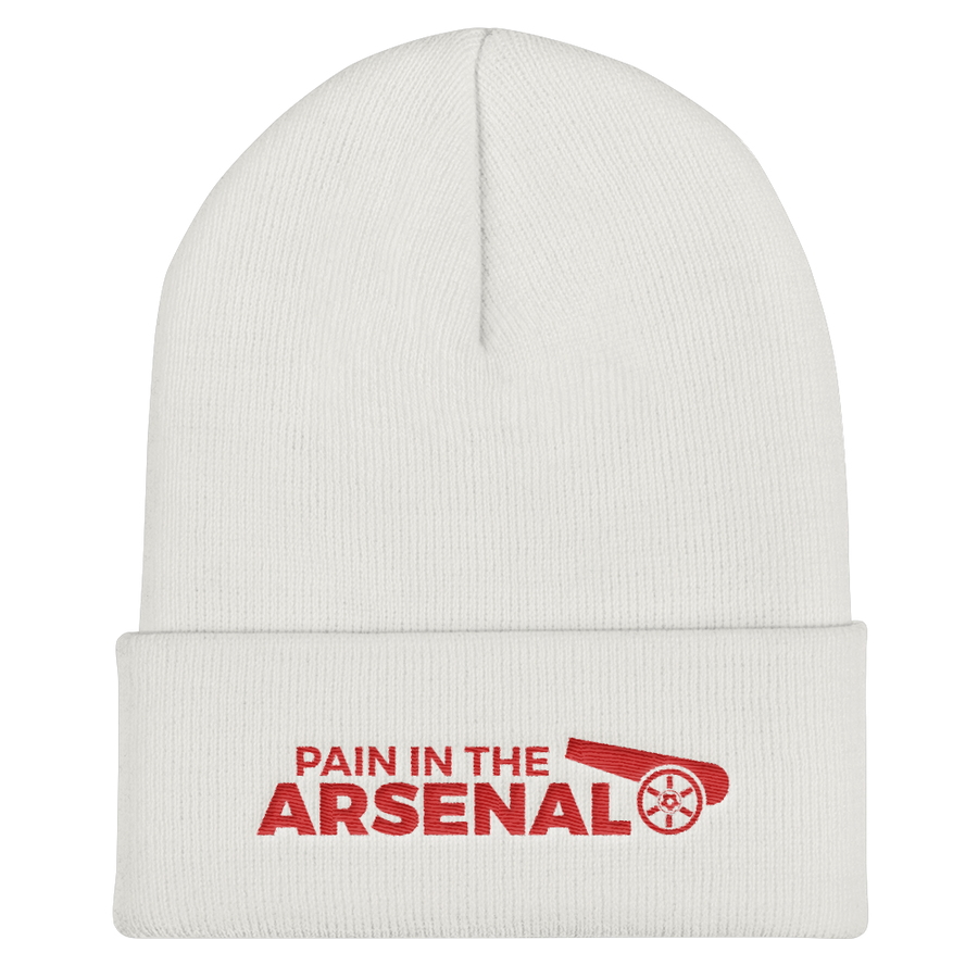 Pain in the Arsenal Cuffed Beanie