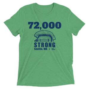 72,000 Strong Short Sleeve T-Shirt