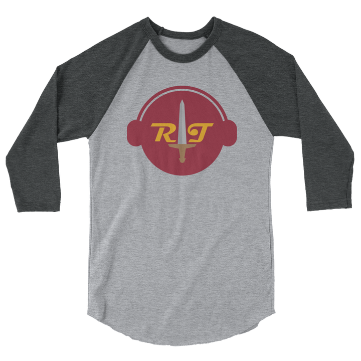 Reign of Troy Radio 3/4 sleeve raglan shirt