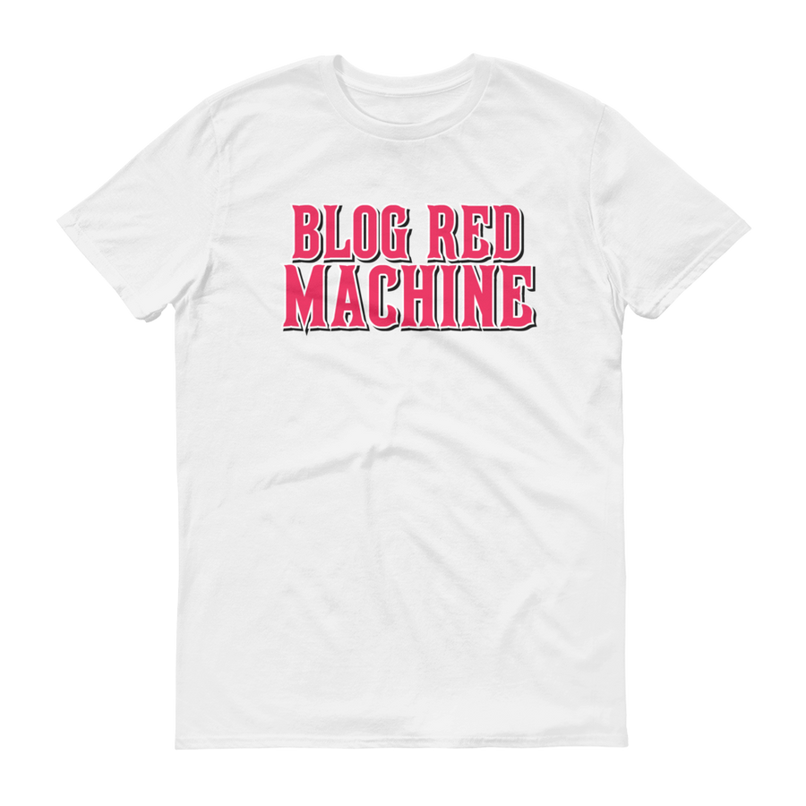 Men's Blog Red Machine Short-Sleeve T-Shirt