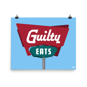 Guilty Eats Poster