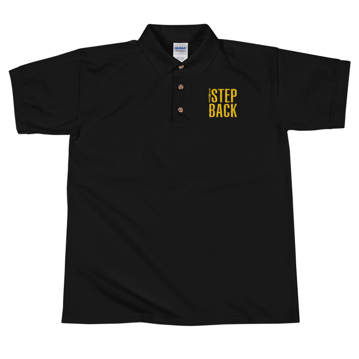 The Step Back Embroidered Polo Shirt
