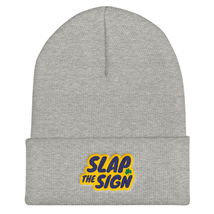 Slap The Sign Cuffed Beanie