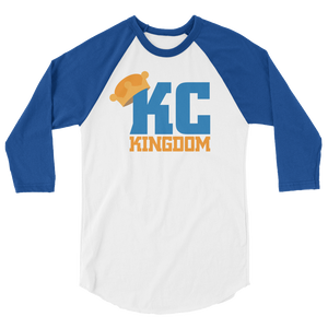 KC Kingdom 3/4 sleeve raglan shirt