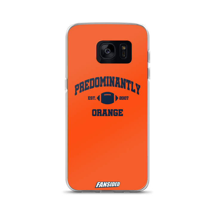 Predominantly Orange Samsung Case