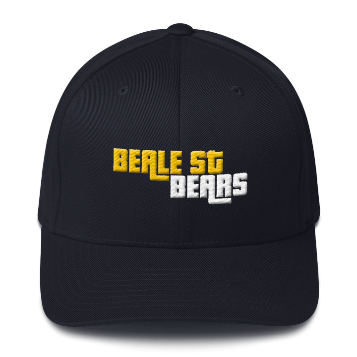 Beale Street Bears Structured Twill Cap