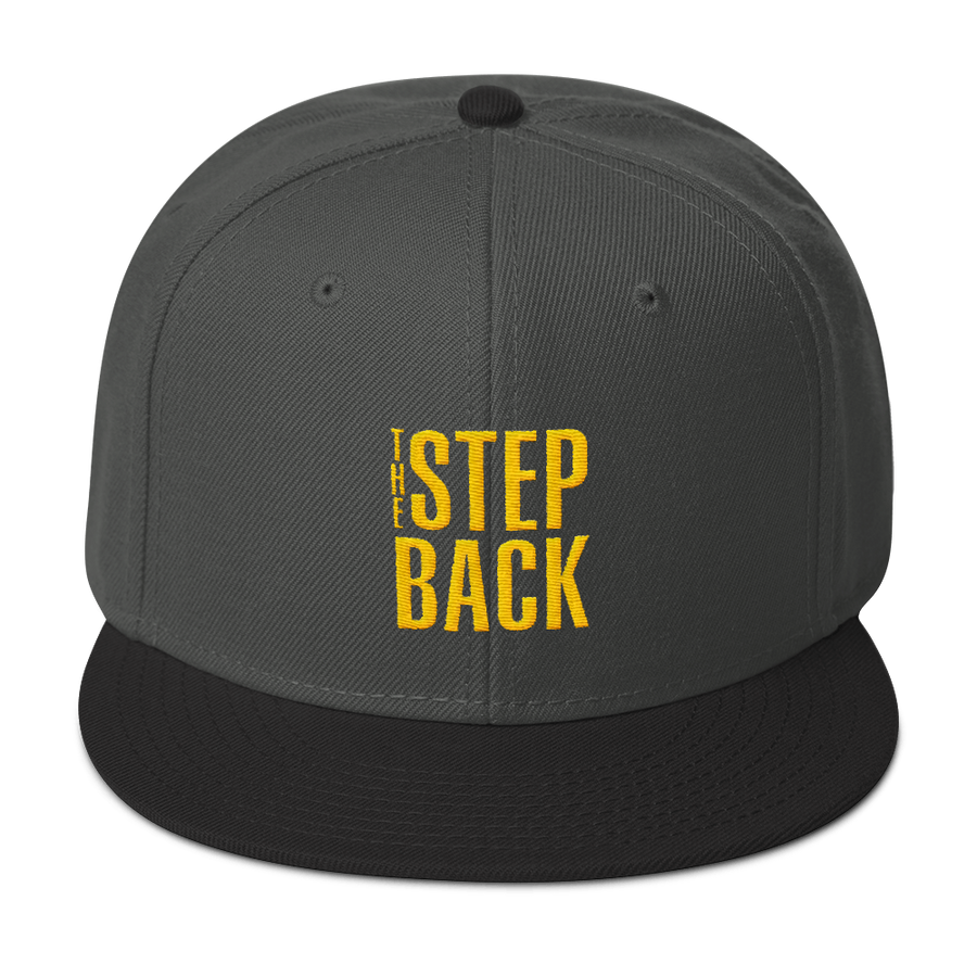 The Step Back Snapback Hat
