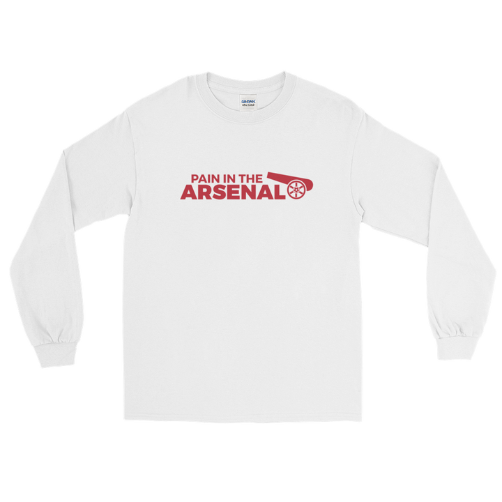 Pain in the Arsenal Long Sleeve T-Shirt