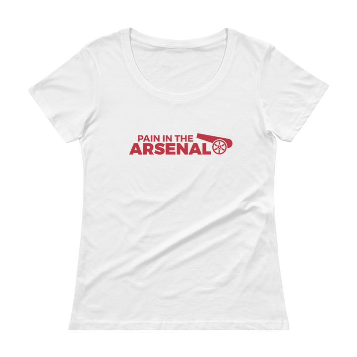 Women's Pain in the Arsenal Scoopneck T-Shirt