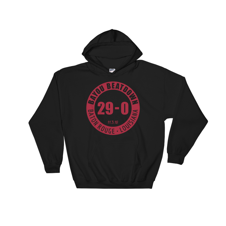 Bama Bayou Beatdown Hooded Sweatshirt