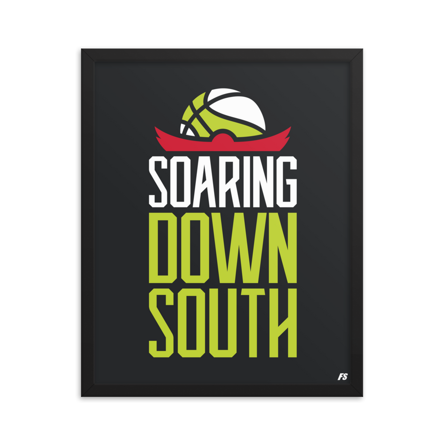 Soaring Down South Premium Matte Framed Poster
