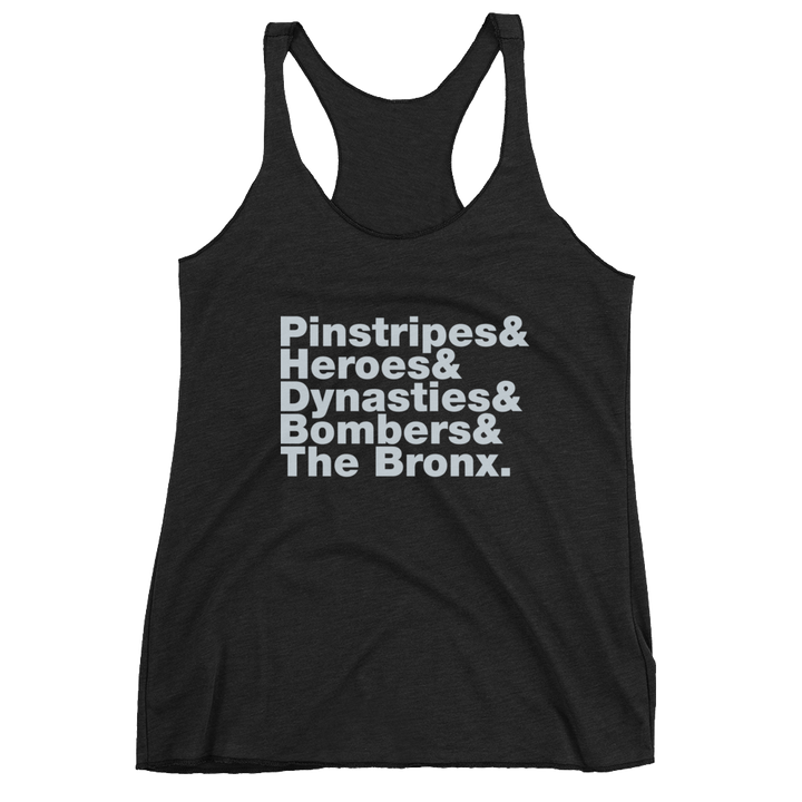 New York Baseball Traditions Women's Racerback Tank