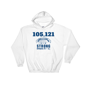 105,121 Strong Hooded Sweatshirt