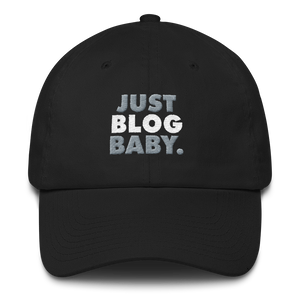 Just Blog Baby Cotton Cap