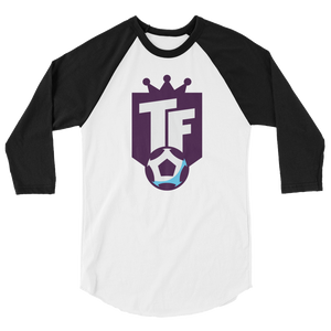 The Top Flight 3/4 sleeve raglan shirt