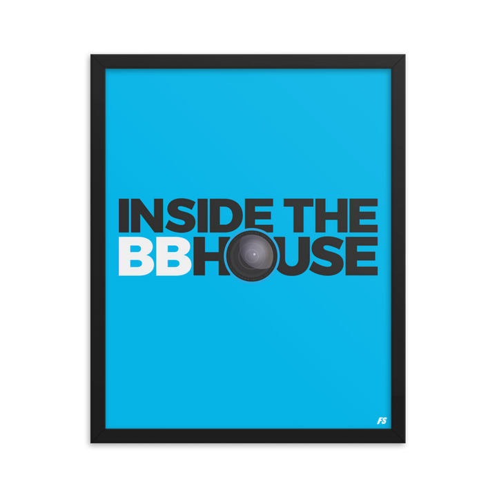 Inside the BB House Framed poster