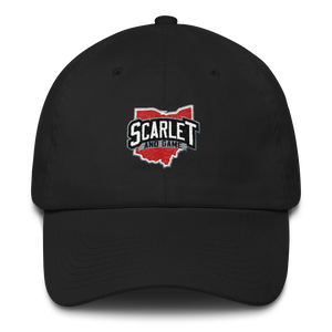 Scarlet and Game Cotton Cap