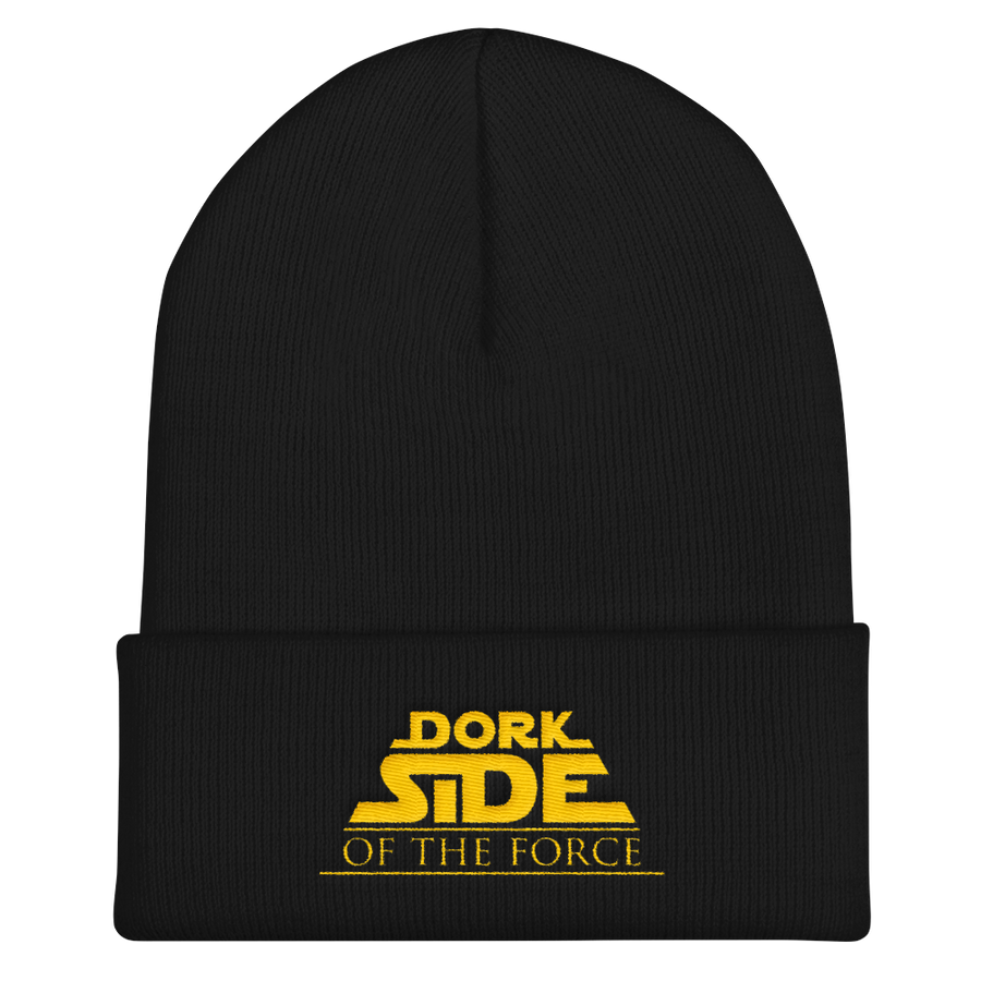 Dork Side of the Force Cuffed Beanie