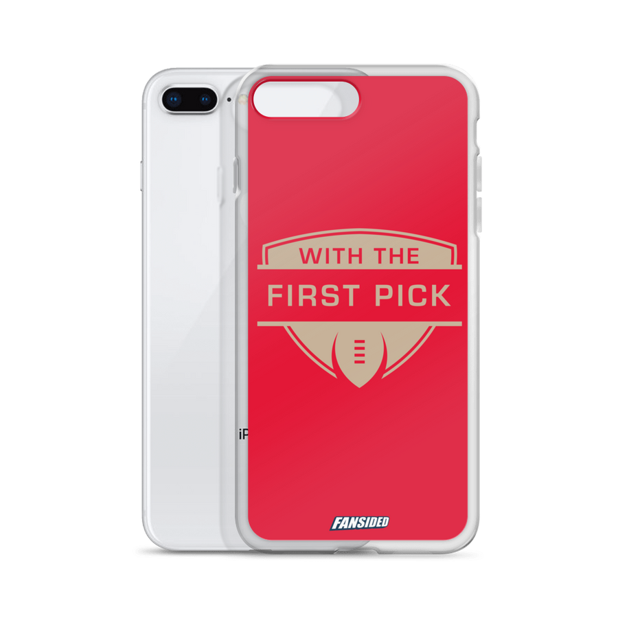 With the First Pick iPhone Case
