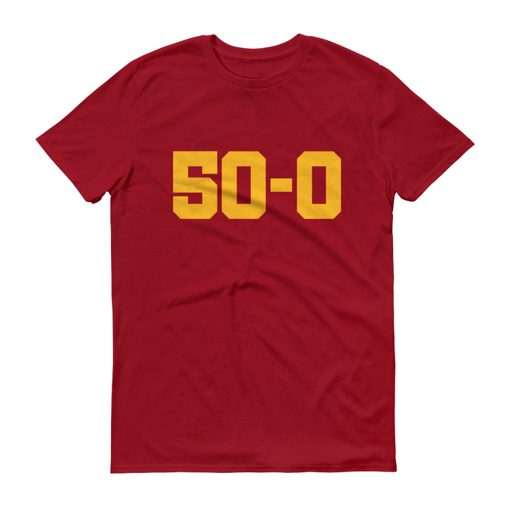 Men's 50-0 Short-Sleeve T-Shirt