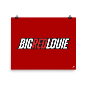 Big Red Louie Poster