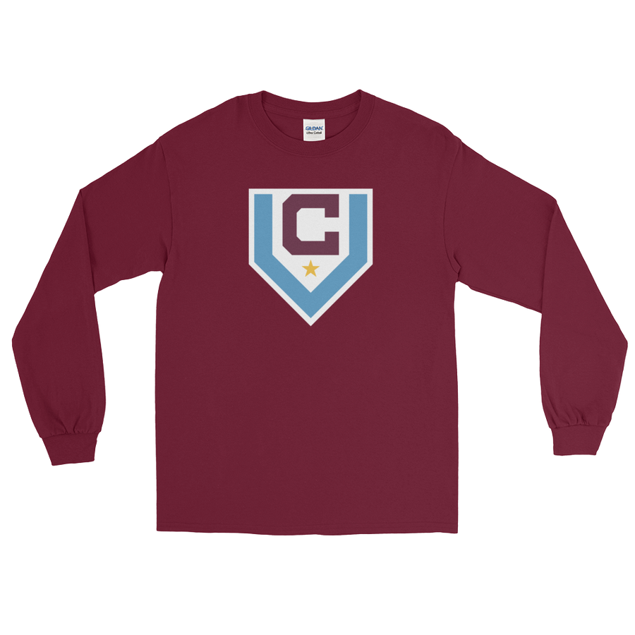 Claret Villa Long Sleeve T-Shirt