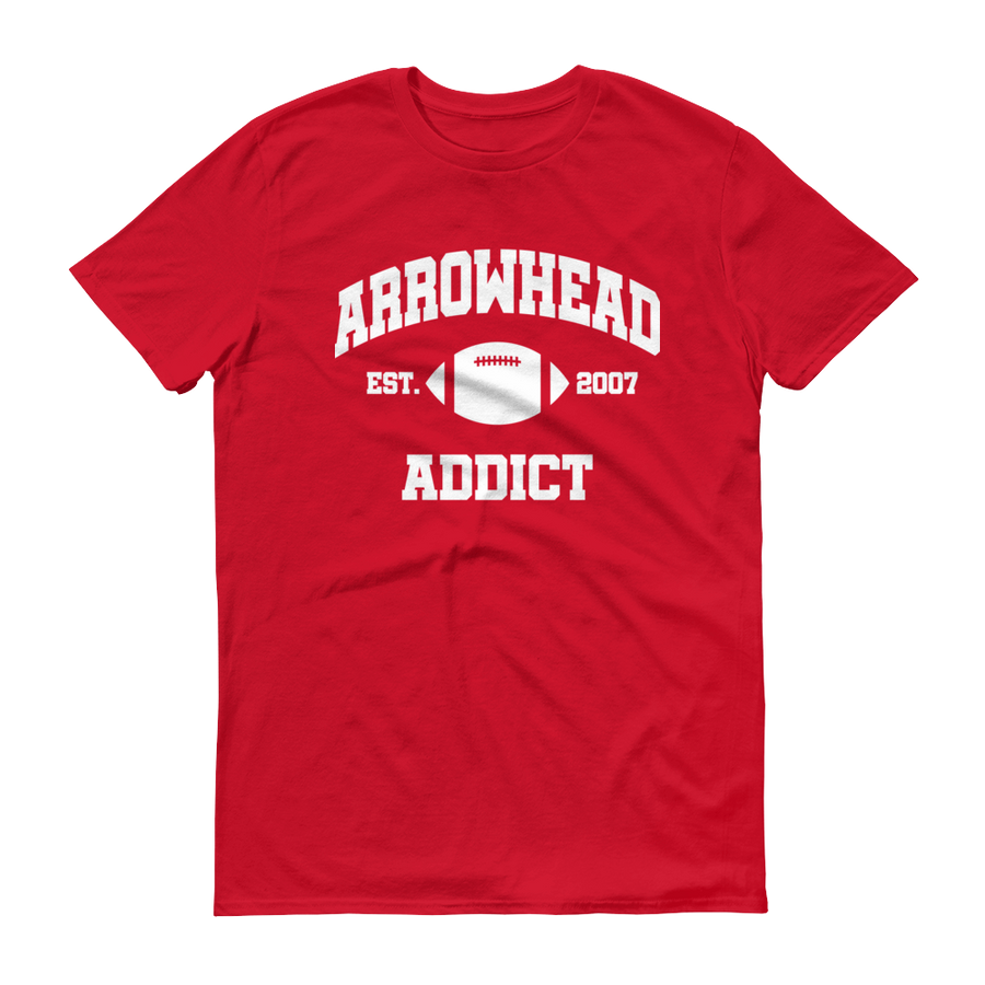 Men's Arrowhead Addict Est. 2007 Short-Sleeve T-Shirt