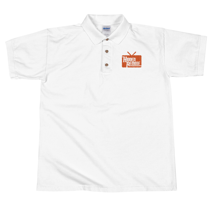 Hidden Remote Embroidered Polo Shirt