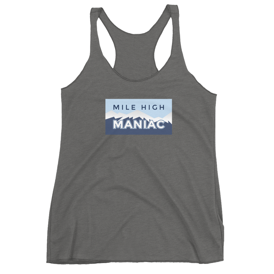 Women's Mile High Maniac Racerback Tank