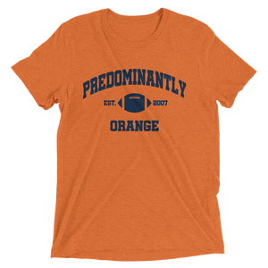 Men's Predominantly Orange Short-Sleeve T-Shirt