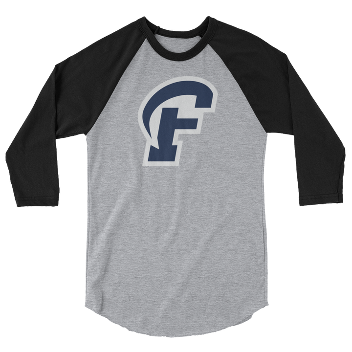 Ramblin' Fan 3/4 sleeve raglan shirt