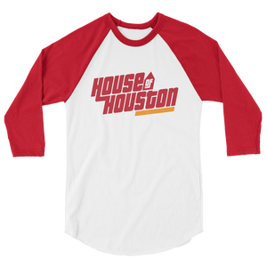 House of Houston 3/4 sleeve raglan shirt
