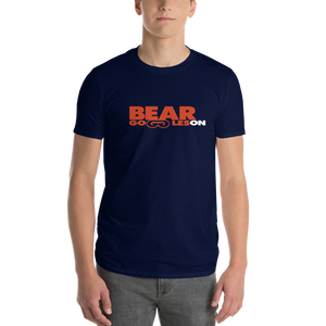 Men's Bear Goggles On Short-Sleeve T-Shirt