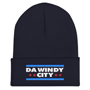 Da Windy City Cuffed Beanie