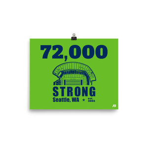 72,000 Strong Poster