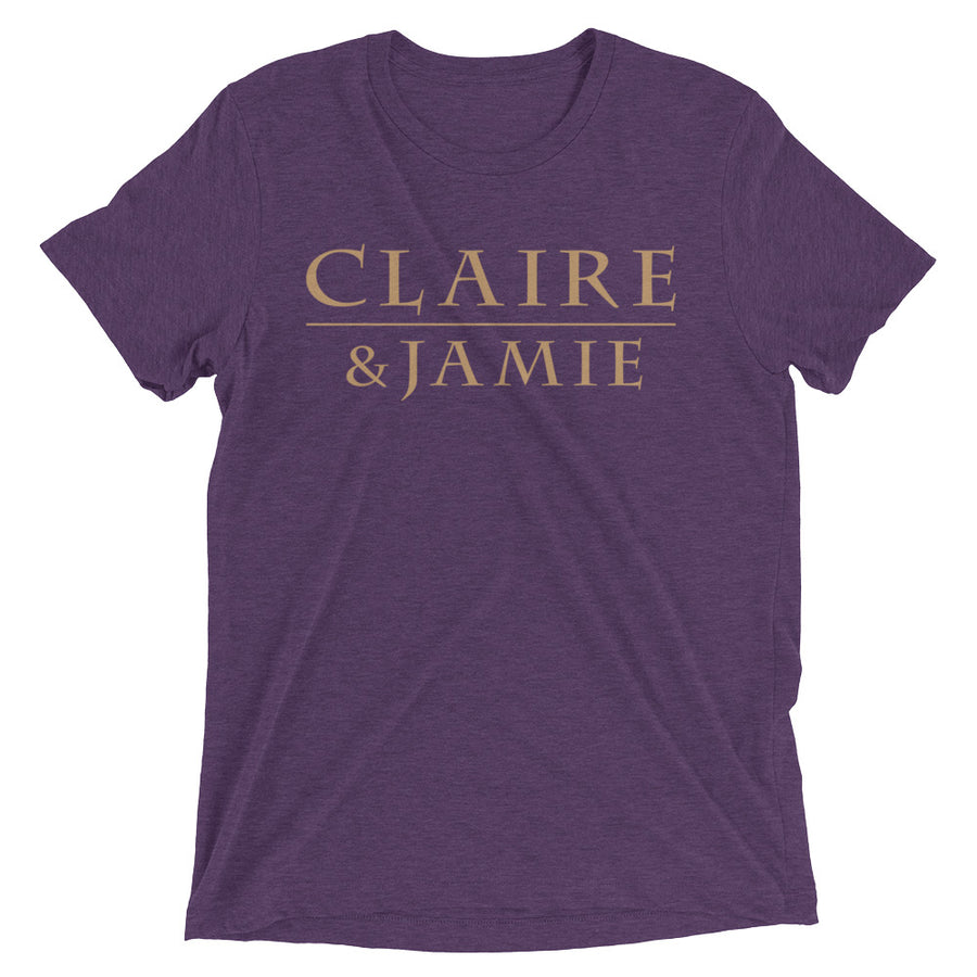 Claire & Jamie Short sleeve t-shirt