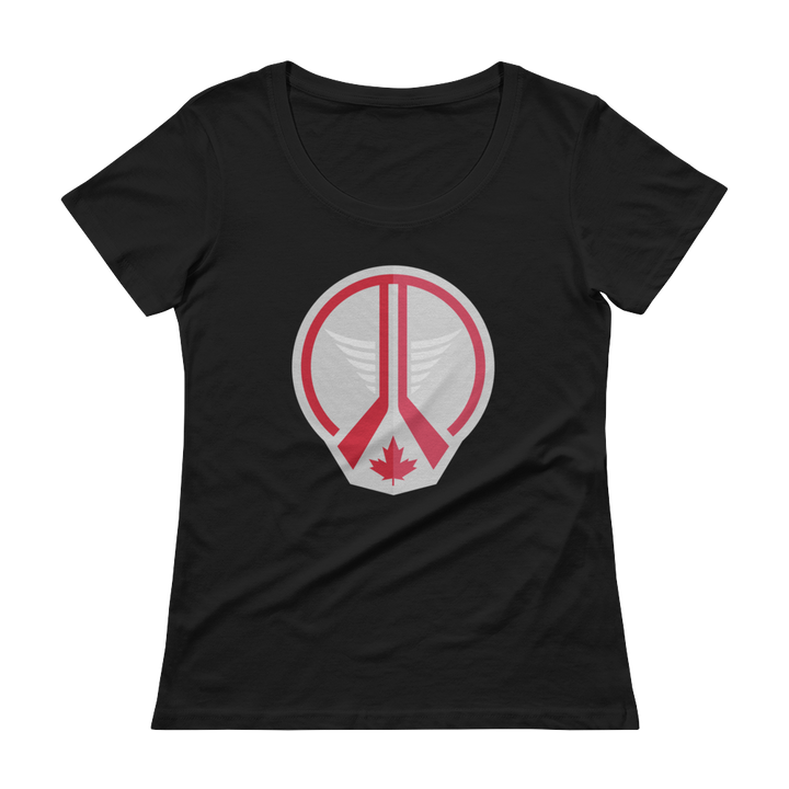 Women's Winnipeg Hockey Scoopneck T-Shirt