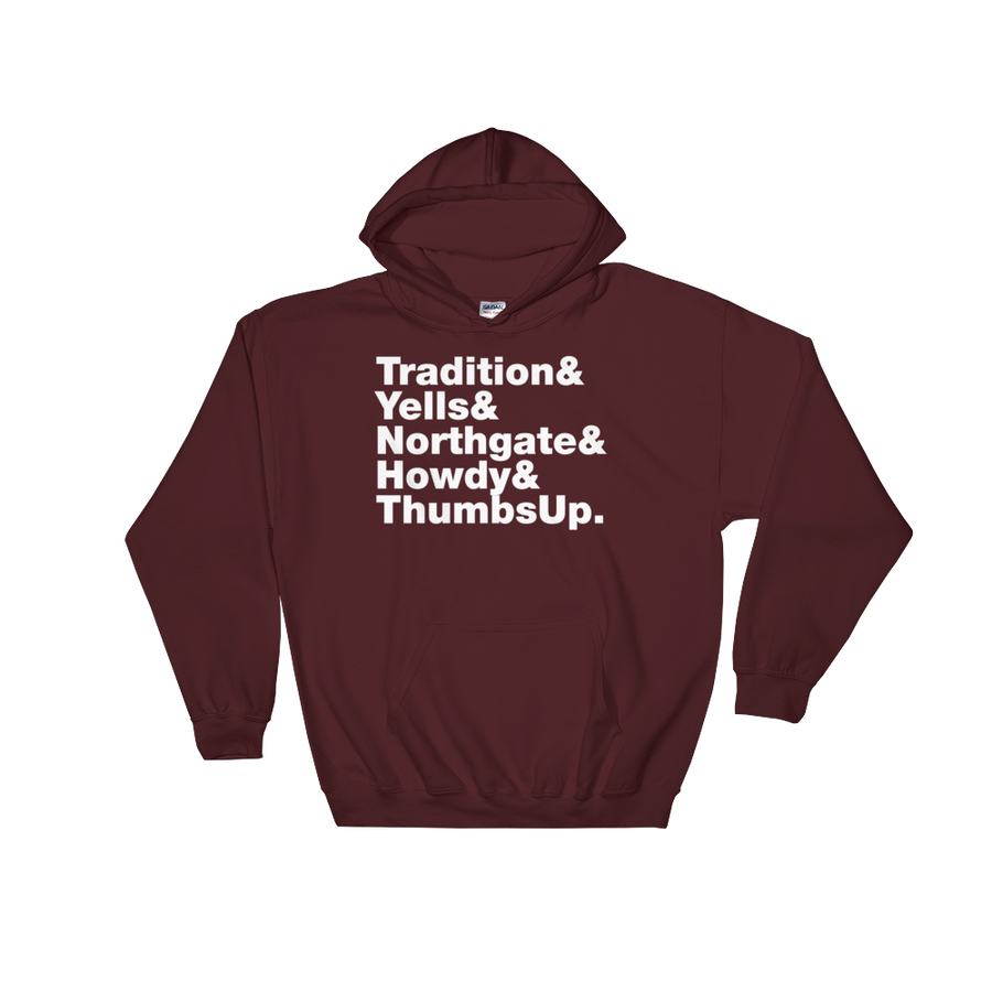 Tradition & Yells Hooded Sweatshirt