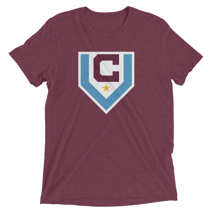 Men's Claret Villa Short-Sleeve T-Shirt