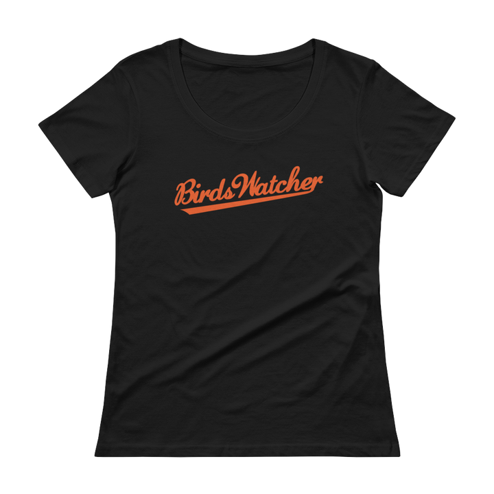 Women's Birds Watcher Scoopneck T-Shirt