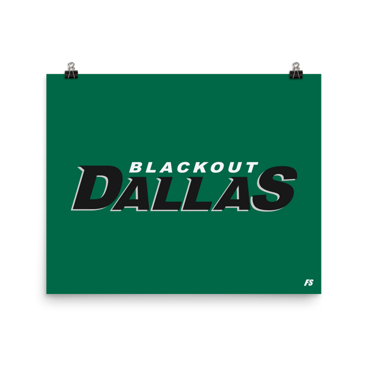 Blackout Dallas Poster