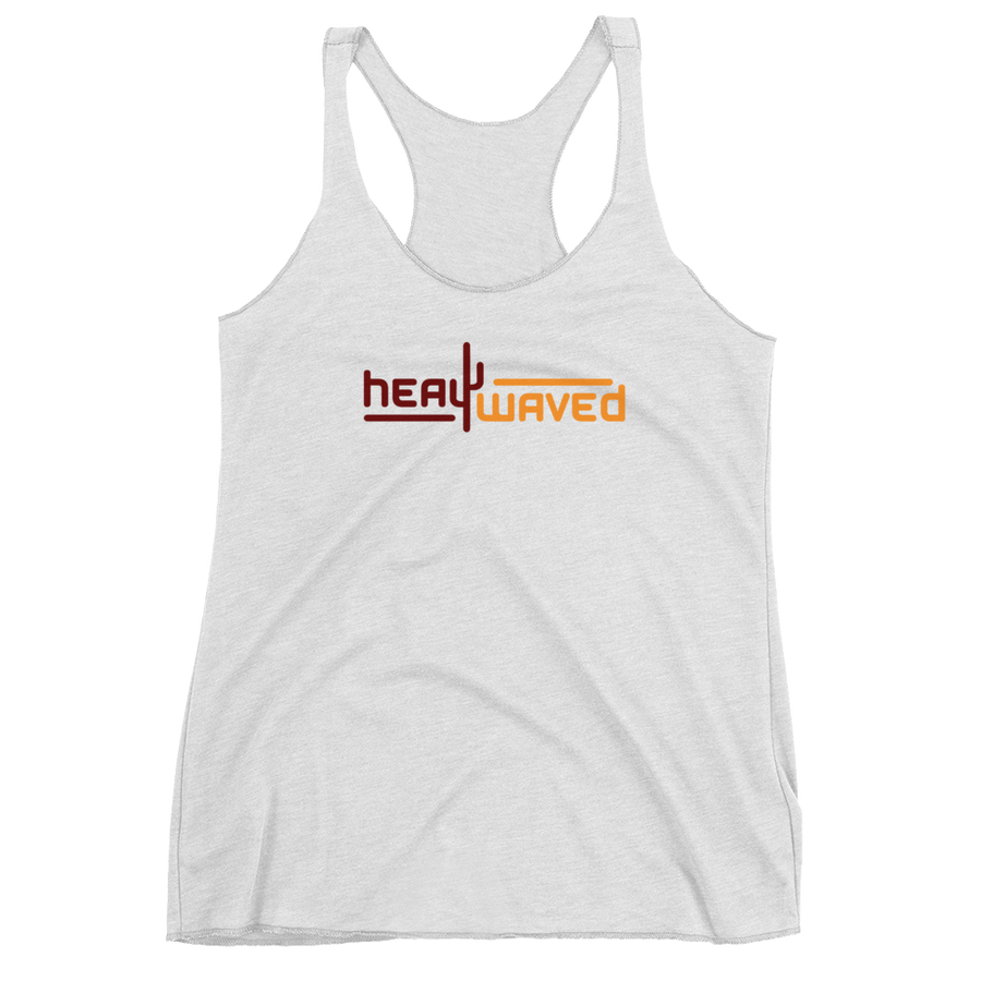 Heat Waved Women's Racerback Tank