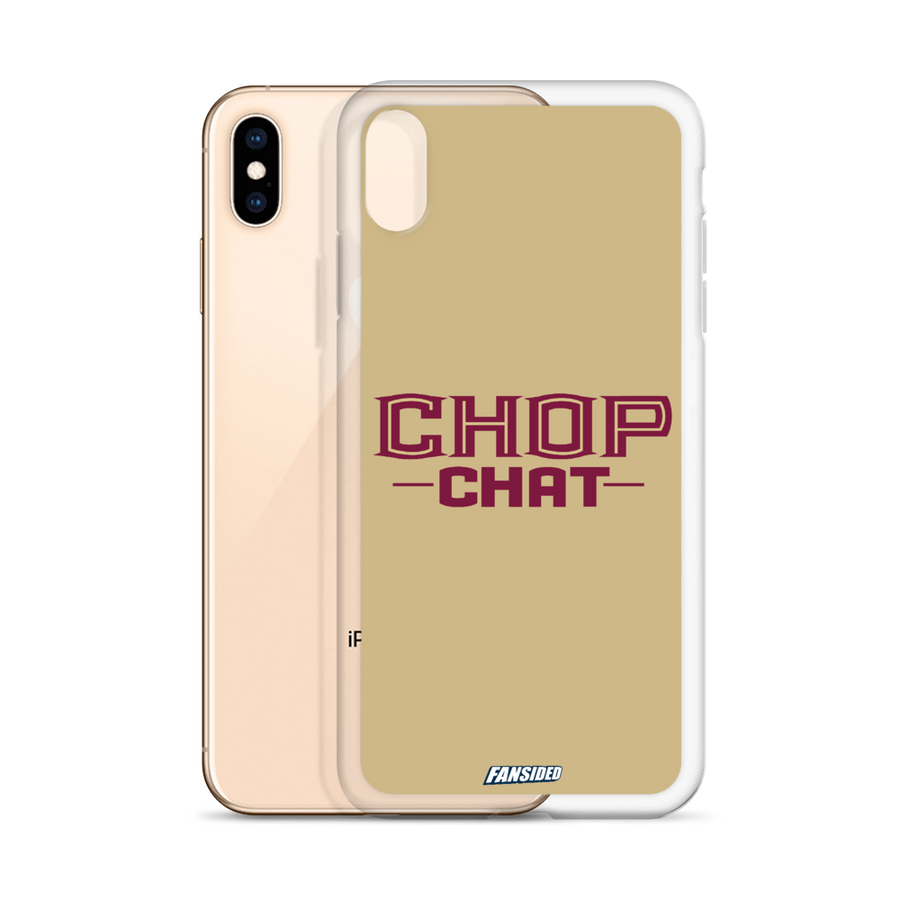 Chop Chat iPhone Case